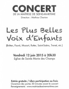 concert Maitrise Seine Maritime 12 6