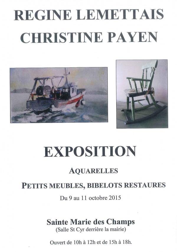 exposition Lemettais Payen