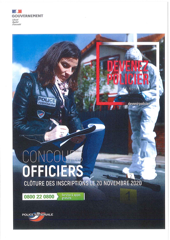 Devenez policier   Gardien de la Paix   Sainte Marie des Champs